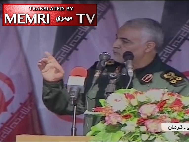 IRGC Quds Force Commander Qasem Soleimani: Arab Countries with Ties to America Have Become Like Beggars; Iran Uprooted ISIS in the Service of Humanity